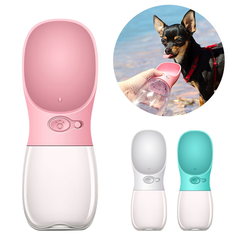 Portable Pet Dog Water Bottle For Small Large Dogs Travel Puppy ...
